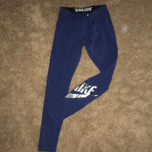 Nike Blue Leggings